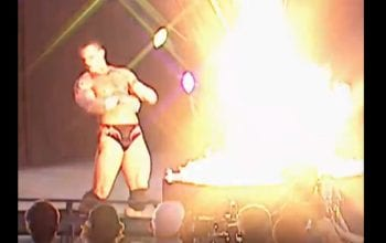 Randy Orton Legit Almost Set Himself On Fire During Undertaker Casket Burning Spot