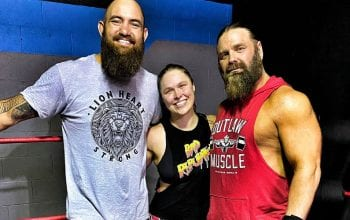 James Storm Talks Training With Ronda Rousey In An 'Undisclosed Location'