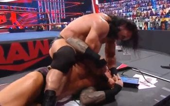 WATCH Drew McIntyre Stab Randy Orton In The Eye With Pen After WWE RAW
