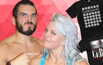 Johnny Gargano & Candice LeRae Removing All Merch From Third Party Website