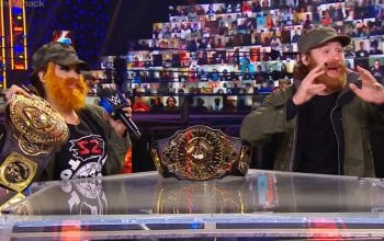 Kayla Braxton Dressed As Sami Zayn On Talking Smack & He Wasn't Happy About It