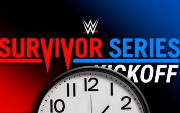 WWE Planning Extra Long Survivor Series Kickoff Show