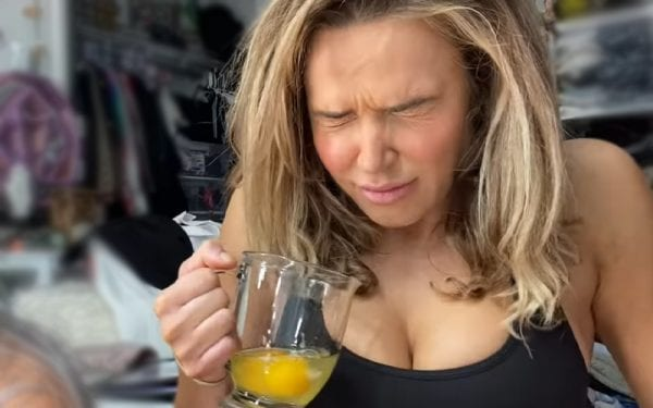 Lana Drinks Raw Eggs While Prepping For WWE Raw Women's Champion Asuka 1