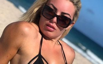 Mandy Rose Blesses Her Timeline With Candid Black Bikini Photo