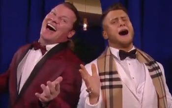 Chris Jericho & MJF's Steak Dinner Breaks Into Full Musical Number On AEW Dynamite