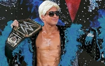 Mario Lopez & Children Dress Up As WWE Superstars For Halloween