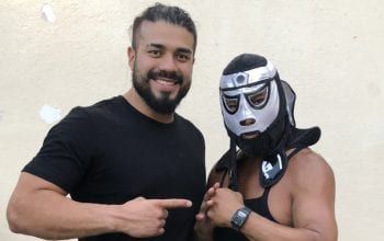 Andrade Hangs With His Uncle The Original Pentagon