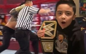 Roman Reigns Threatened By Referee's Son After Throwing His Dad Out Of Ring At Hell In A Cell