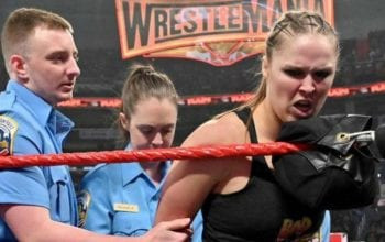 Ronda Rousey WWE RAW Arrest Angle Listed As Real On Trump Celebrity Supporter Recruitment List