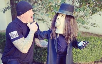 The Undertaker's Daughter Dresses As Her Father For Halloween
