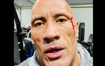 The Rock Busts Head Open In Gym Accident & Tastes His Own Blood
