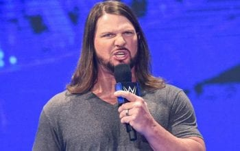AJ Styles Didn't Like His Pro Wrestling Name At First