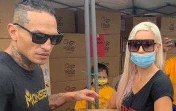 Dana Brooke & Boyfriend Called Out For Improper Mask Usage At Charity Event