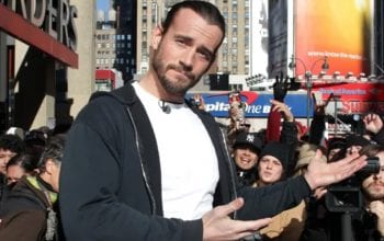 CM Punk Makes Joke About WWE NXT's Writing
