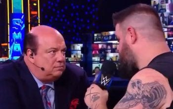 Watch Kevin Owens & Paul Heyman Have Intense Moment On WWE Talking Smack