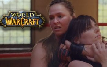 Ronda Rousey Trains In Pro Wrestling Ring During New World Of Warcraft Commercial