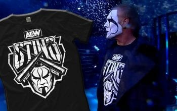 AEW Drops Entire Line Of Sting Merchandise After Debut