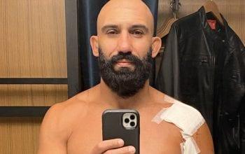 WWE RAW Superstar Arturo Ruas Provides Update After Surgery