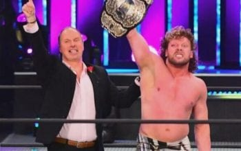 Kenny Omega Reacts To Fan Dragging Him For Being AEW EVP & World Champion