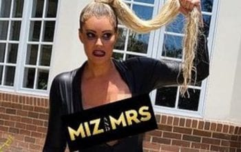 Maryse Uses Wardrobe Malfunction To Promote Miz & Mrs.