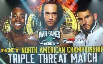 Betting Odds For WWE NXT North American Title Triple Threat At WarGames Revealed