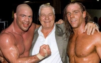 Kurt Angle Shares Memory Of Pat Patterson Producing His Shawn Michaels WrestleMania Match