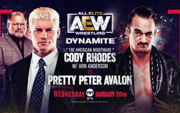 Another Match Made Official For Next Week's AEW Dynamite