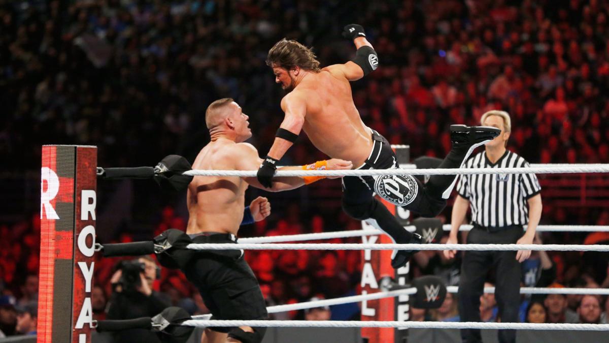 AJ vs John