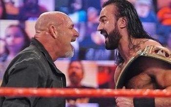 Goldberg & Drew McIntyre Booked For WWE RAW Next Week