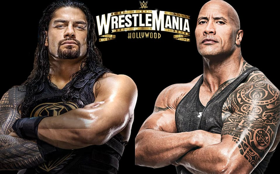 The Rock and Roman
