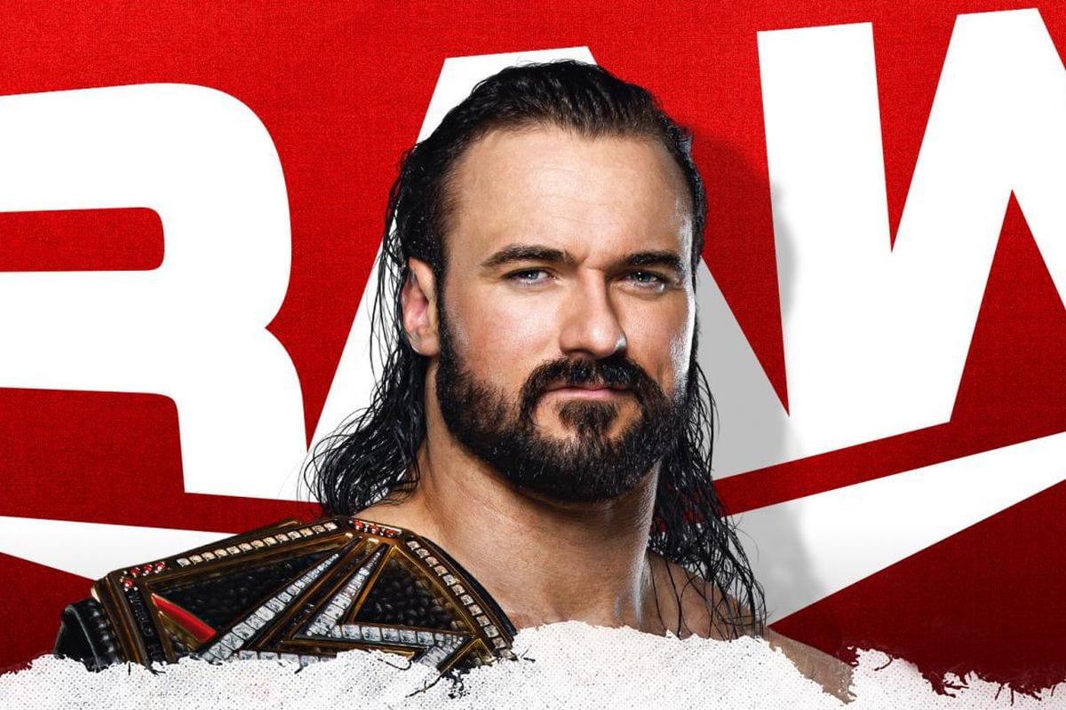 WWE RAW Drew