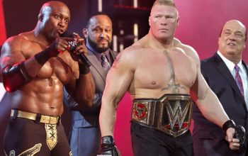 MVP Trying To Get Brock Lesnar WrestleMania Match For Bobby Lashley