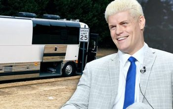 Cody Rhodes Upgrades His Travel Game & Buys A Bus