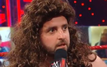 David Krumholtz Makes Special Appearance During WWE RAW As 'Drew McInfart'