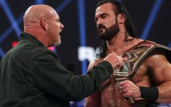Drew McIntyre Confirms Goldberg Royal Rumble Match Will Happen After COVID-19 Quarantine