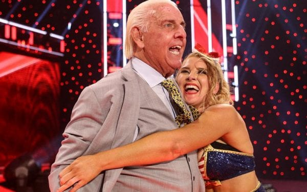 Lacey Evans Claims To Spend Night With WWE Legend Ric Flair; Taunts Charlotte 1