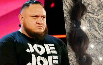 Samoa Joe Cuts Off His Hair For Charity