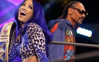 Sasha Banks Comments On Snoop Dogg's AEW Dynamite Splash
