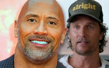 Matthew McConaughey Reveals Recent Conversation With The Rock About Pro Wrestling