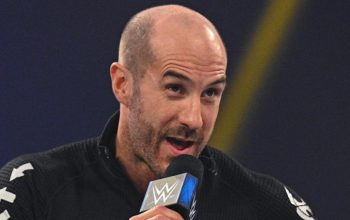 Cesaro Reveals Match He Wants at WWE WrestleMania 37