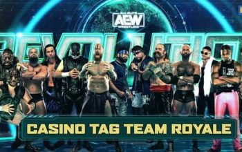 AEW Reveals Rules For Casino Tag Team Royale Match At Revolution