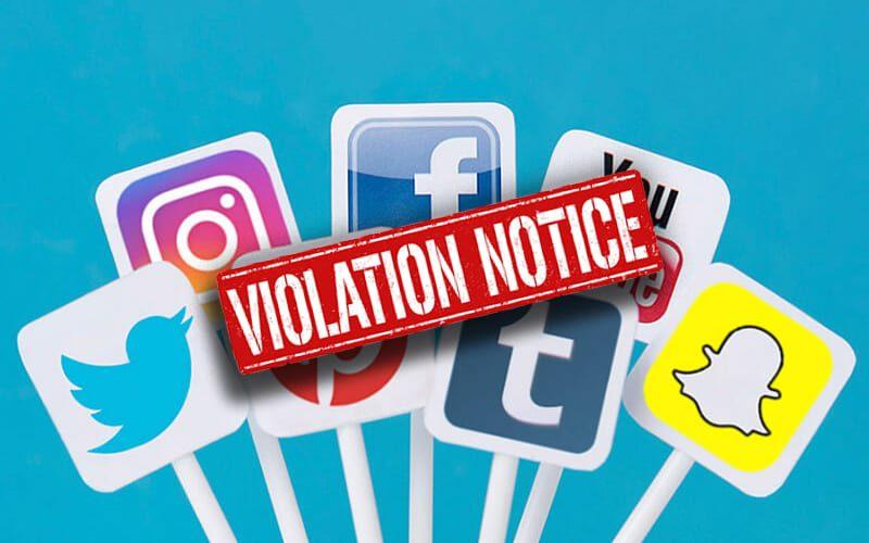 social-media-violation
