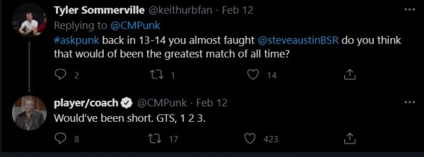 CM Punk Denies A Shot At WWE Legend Stone Cold Steve Austin 1
