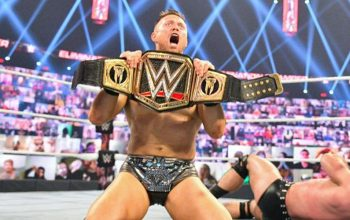 The Miz Reveals Backstage Reaction After WWE Title Win