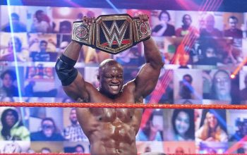 The Hurt Business Celebrate Bobby Lashley's Huge WWE Title Win