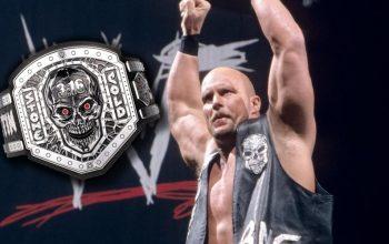 WWE Selling $1,000 Steve Austin Title Belt
