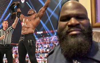 Mark Henry's Great Reaction To Bobby Lashley WWE World Title Win