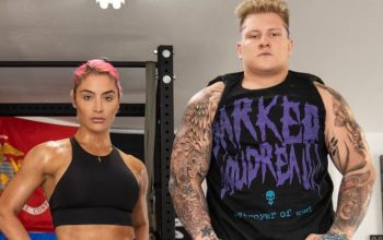 Brock Lesnar Look-Alike Parker Boudreaux Training With Eva Marie