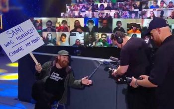 WWE's Game Plan For Sami Zayn's Documentary Crew