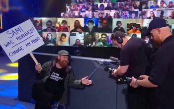 WWE's Game Plan For Sami Zayn's Documentary Crew